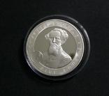 Олдерни, 5 фунтов 2006 - ЧАРЛЬЗ ДИККЕНС - серебро, фото №2