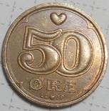 Дания 50 оре 1997, фото №2