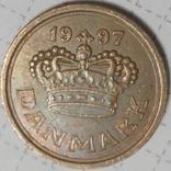 Дания 50 оре 1997, фото №3