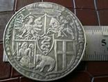 1 таляр Польща  1564 р. ( дуже високоякісна копія) не магнітна, фото №2