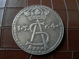 1 таляр Польща  1564 р. ( дуже високоякісна копія) не магнітна, фото №3