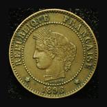Франция 2 сентим 1896, фото №2