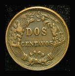 Перу 2 сентаво 1876, фото №2
