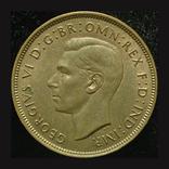 Великобритания пенни 1937  Коронация, фото №2