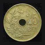 Бельгия 25 сантим 1921, фото №3