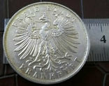 1 таляр Вільне місто Франкфурт  1862 р. (дуже високоякісна копія) не магнітна, фото №3