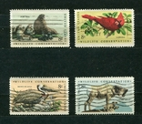 США, фауна , 1972 г. (полная серия), фото №2