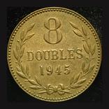 Гернси 8 даблов 1945, фото №2