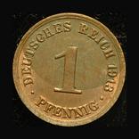 Германия 1 пфенниг 1913, фото №3