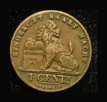 Бельгия 1 сентим 1902, фото №2