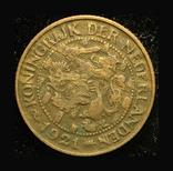 Нидерланды 1 цент 1921, фото №3