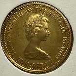 20 долларов. 1971. Багамские острова (золото 917), фото №2