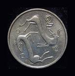 Кипр 2 цента 1993, фото №2