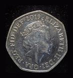 Великобритания 50 пенсов 2019 Шерлок Холмс, фото №3