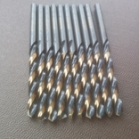 Сверла по металлу 10 шт польские диаметр 4,1 мм Stalco Perfect S-71741, фото №3