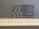 Сверла по металлу 10 шт польские диаметр 4,1 мм Stalco Perfect S-71741, фото №5