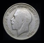 Великобритания 1/2 кроны 1922 серебро, фото №2