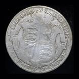Великобритания 1/2 кроны 1922 серебро, фото №3