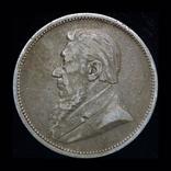 Южная Африка 2 шиллинга 1895 серебро, фото №2