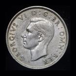 Великобритания 2 шиллинга 1945 серебро, фото №3