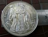 1 крона 1817 року Велика Британія копія срібної не  магнітна. Посрібнення  999, фото №3