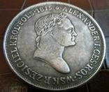 10 злотих  1815 року Росія для Польщі Копія, не магнітна,  посрібнення 999, фото №2