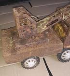 Большой кран СССР грузовик металлический, фото №4