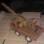 Большой кран СССР грузовик металлический, фото №10