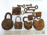 Замки і ключі з німецьких бліндажів ПСВ., фото №2