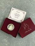 США 50 центов 1982 год серебро Вашингтон, фото №2