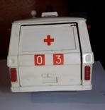 Машинка из СССР Раф 2203 скорая помощь , на реставрацию или запчасти, фото №5
