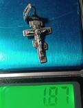 Крестик, серебро 925 пр., фото №5