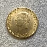 Турция 100 куруш 7,2 грамма золота 917, фото №2