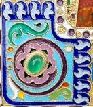 Икона Божьей матери Казанская в серебряном окладе с эмалью., фото №6