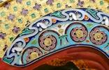 Икона Божьей матери Казанская в серебряном окладе с эмалью., фото №7