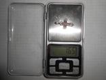 Крестик нательный Серебро 925 Вес - 1,65 грамм, фото №5