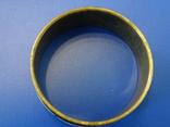 Винтажный браслет-обруч. Латунь, перламутр., фото №11