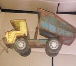 Большой грузовой самосвал ,машинка,металл.,Запорожсталь СССР 1960-1970-е, фото №6
