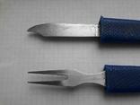 """Нож+ вилка туриста """"Рыбка"""", фото №12"""