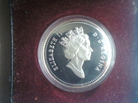 Канада 1 доллар 1991 г. Серебро. Фронтенак. Корабль., фото №5