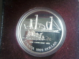 Канада 1 доллар 1991 г. Серебро. Фронтенак. Корабль., фото №10