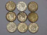 9 монет по 1 кроне, Швеция, фото №3