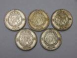 5 монет по 1 кроне, Швеция, фото №2