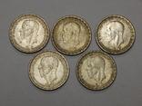 5 монет по 1 кроне, Швеция, фото №3