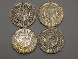 4 монеты по 1 кроне, Швеция, фото №2