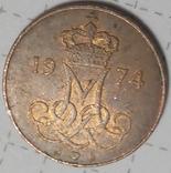 Дания 5 оре 1974, фото №3
