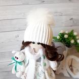 В'язана інтер'єрна лялька, фото №3