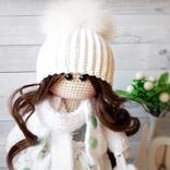 В'язана інтер'єрна лялька, фото №6