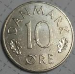 Дания 10 оре 1985, фото №2