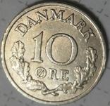 Дания 10 оре 1961, фото №2